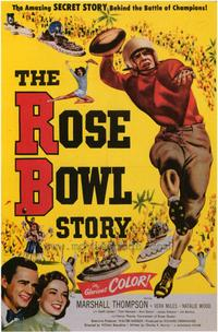 The Rose Bowl Story - 43 x 62 Movie Poster - Bus Shelter Style A
