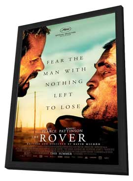 The Rover - 27 x 40 Movie Poster - Style B - in Deluxe Wood Frame