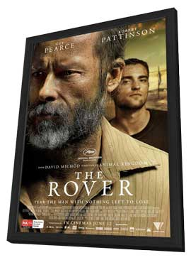 The Rover - 27 x 40 Movie Poster - Australian Style A - in Deluxe Wood Frame