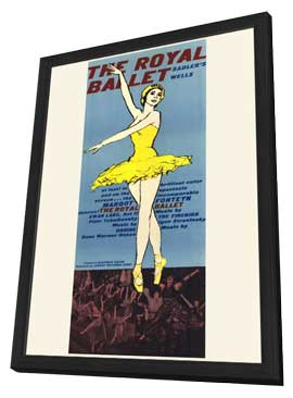 The Royal Ballet - 27 x 40 Movie Poster - Style B - in Deluxe Wood Frame