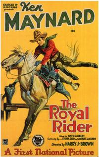 The Royal Rider - 11 x 17 Movie Poster - Style A