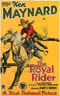 The Royal Rider - 27 x 40 Movie Poster - Style A