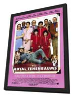 The Royal Tenenbaums - 11 x 17 Movie Poster - Style B - in Deluxe Wood Frame