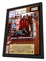 The Royal Tenenbaums - 27 x 40 Movie Poster - Style A - in Deluxe Wood Frame