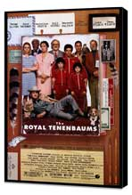 The Royal Tenenbaums - 27 x 40 Movie Poster - Style A - Museum Wrapped Canvas