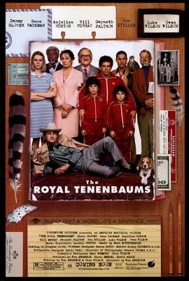 The Royal Tenenbaums - 27 x 40 Movie Poster - Style A