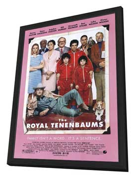 The Royal Tenenbaums - 27 x 40 Movie Poster - Style B - in Deluxe Wood Frame