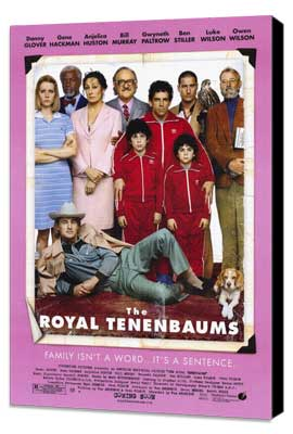The Royal Tenenbaums - 11 x 17 Movie Poster - Style B - Museum Wrapped Canvas