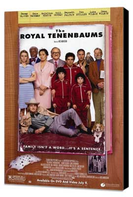 The Royal Tenenbaums - 11 x 17 Movie Poster - Style D - Museum Wrapped Canvas