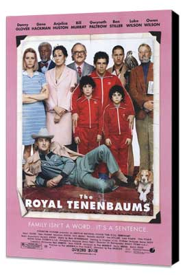 The Royal Tenenbaums - 27 x 40 Movie Poster - Style B - Museum Wrapped Canvas
