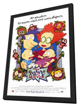 The Rugrats Movie - 11 x 17 Movie Poster - Style A - in Deluxe Wood Frame