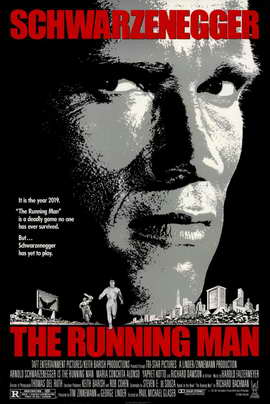 The Running Man - 11 x 17 Movie Poster - Style A