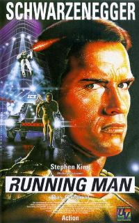 The Running Man - 11 x 17 Movie Poster - German Style A