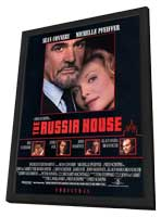 The Russia House - 11 x 17 Movie Poster - Style F - in Deluxe Wood Frame
