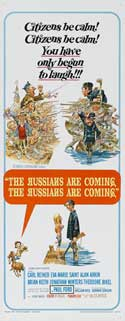 The Russians Are Coming, the Russians Are Coming - 14 x 36 Movie Poster - Insert Style A