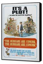 The Russians Are Coming, the Russians Are Coming - 11 x 17 Movie Poster - Style B - Museum Wrapped Canvas