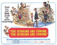 The Russians Are Coming, the Russians Are Coming - 11 x 14 Movie Poster - Style A