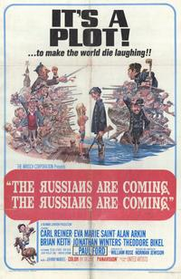 The Russians Are Coming, the Russians Are Coming - 11 x 17 Movie Poster - Style A