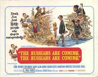 The Russians Are Coming, the Russians Are Coming - 22 x 28 Movie Poster - Half Sheet Style A