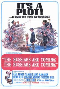 The Russians Are Coming, the Russians Are Coming - 27 x 40 Movie Poster - Style A