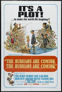 The Russians Are Coming, the Russians Are Coming - 27 x 40 Movie Poster - Style B