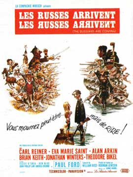 The Russians Are Coming, the Russians Are Coming - 11 x 17 Movie Poster - French Style A