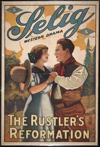 The Rustler's Reformation - 11 x 17 Movie Poster - Style A