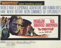 Saboteur - 11 x 14 Movie Poster - Style A