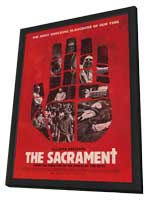 The Sacrament - 11 x 17 Movie Poster - Style B - in Deluxe Wood Frame