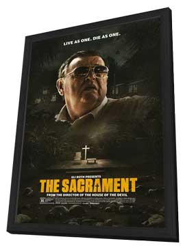 The Sacrament - 27 x 40 Movie Poster - Style A - in Deluxe Wood Frame