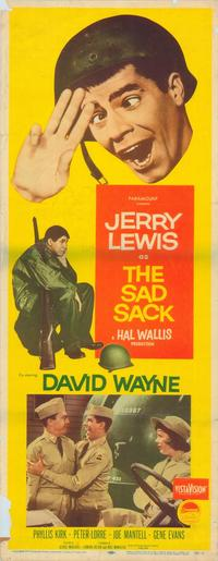 The Sad Sack - 11 x 17 Movie Poster - Style A