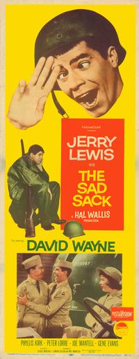 The Sad Sack - 14 x 36 Movie Poster - Insert Style A