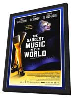 The Saddest Music in the World - 27 x 40 Movie Poster - Style A - in Deluxe Wood Frame