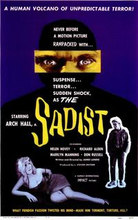The Sadist - 11 x 17 Movie Poster - Style A