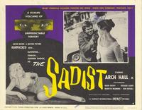 The Sadist - 11 x 14 Movie Poster - Style A