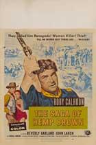 The Saga of Hemp Brown - 11 x 14 Movie Poster - Style C