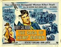 The Saga of Hemp Brown - 11 x 14 Movie Poster - Style A