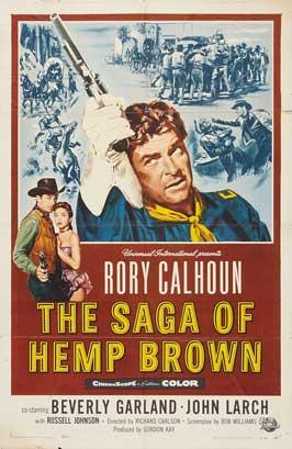 The Saga of Hemp Brown - 11 x 17 Movie Poster - Style A