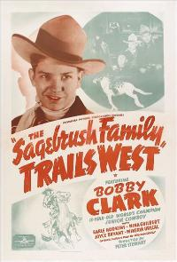 The Sagebrush Family Trails West - 27 x 40 Movie Poster - Style A