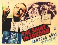 The Saint in London - 11 x 14 Movie Poster - Style A