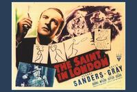 The Saint in London - 27 x 40 Movie Poster - Style A