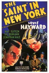 The Saint in New York - 27 x 40 Movie Poster - Style A