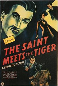 The Saint Meets the Tiger - 43 x 62 Movie Poster - Bus Shelter Style A
