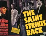 The Saint Strikes Back - 11 x 14 Movie Poster - Style A