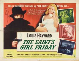 The Saints Girl Friday - 22 x 28 Movie Poster - Half Sheet Style A