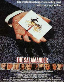 The Salamander - 11 x 17 Movie Poster - UK Style A