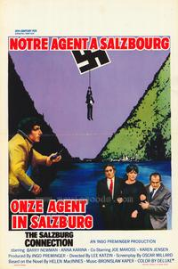 The Salzburg Connection - 11 x 17 Movie Poster - Belgian Style A