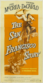 The San Francisco Story - 20 x 40 Movie Poster - Style A