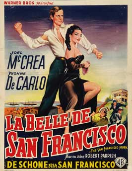 The San Francisco Story - 11 x 17 Movie Poster - Belgian Style A