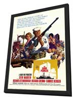 The Sand Pebbles - 27 x 40 Movie Poster - Style A - in Deluxe Wood Frame
